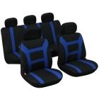 Set huse auto Evolution negru/albastru