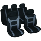 Set huse auto Evolution negru/gri