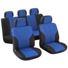 Set huse auto Master negru/albastru