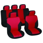 Car seat cover Master black/red