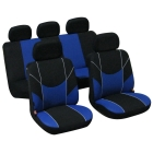 Car seat cover Victory black/blue