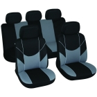 Car seat cover Victory black/grey