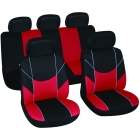 Car seat cover Victory black/red