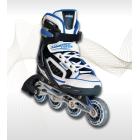 Adjustable inline skates Alu. chassis 40-43