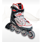Adjustable inline skates Alu. chassis 32-35