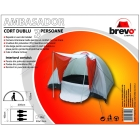 BREVO CAMPING 3 persons double layer tent